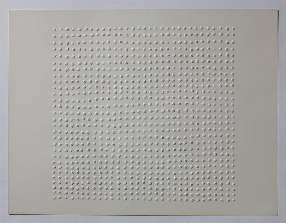 Oskar Holweck work 6 VIII / 59 Collection ZERO foundation
