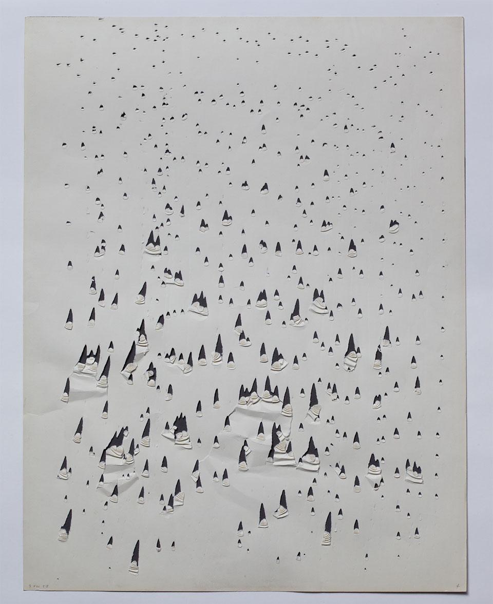 Oskar Holweck Werk 9 VIII 58 Sammlung ZERO foundation