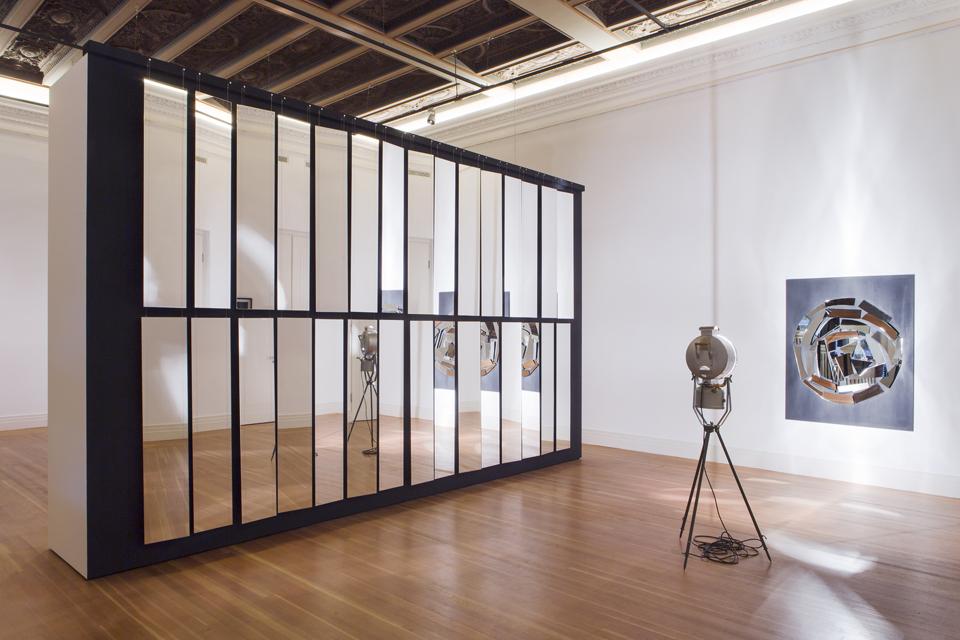 Christian Megert, Spiegelwand, Sammlung ZERO foundation