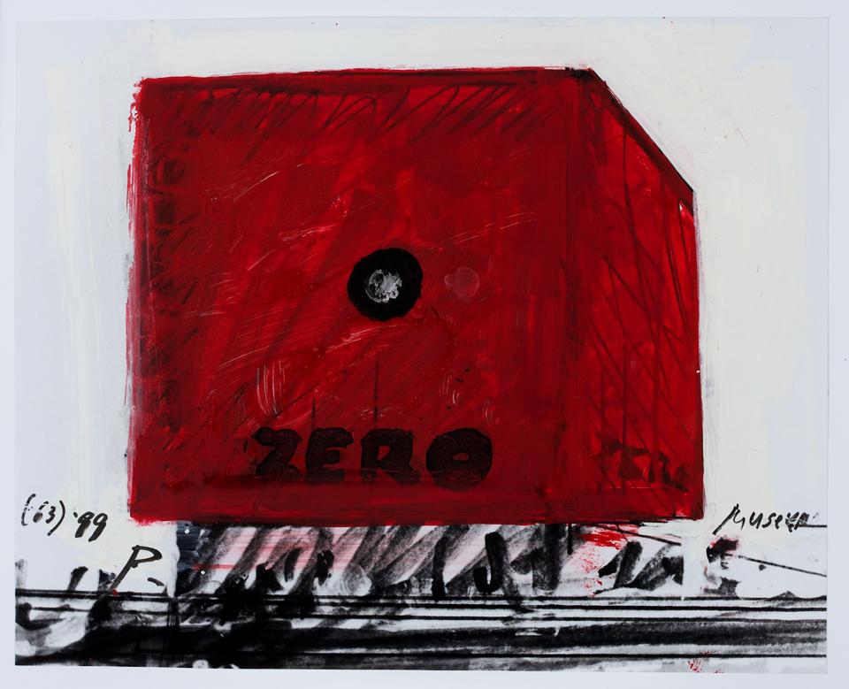 Otto Piene, ZERO-Museum, 1963 / 1999, Sammlung ZERO foundation