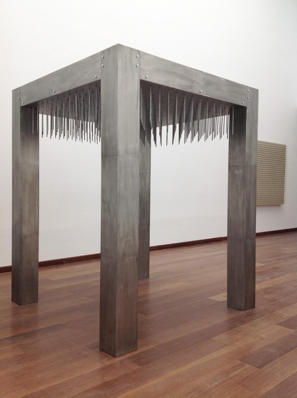 Günther Uecker, Nageltisch, 1968 / 2014, Sammlung ZERO foundation