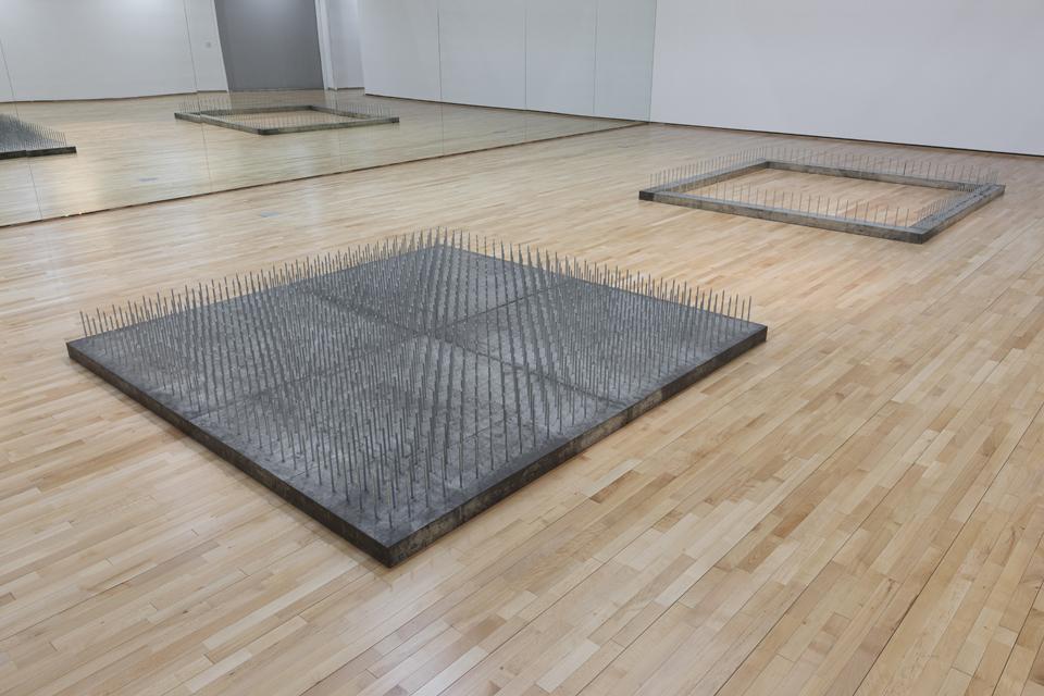 Günther Uecker, voll leer hohl, Collection ZERO foundation, Düsseldorf