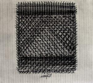 Heinz Mack, Ohne Titel, 1958, Collection ZERO foundation, Düsseldorf