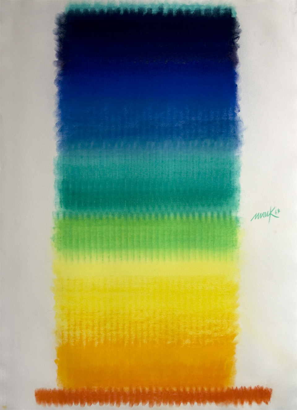 Heinz Mack, Ohne Titel, 1964, Collection ZERO foundation, Düsseldorf