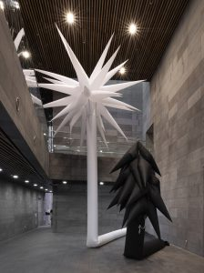 Otto Piene, Inflatable White Lilly, 2013, Collection ZERO foundation, Düsseldorf