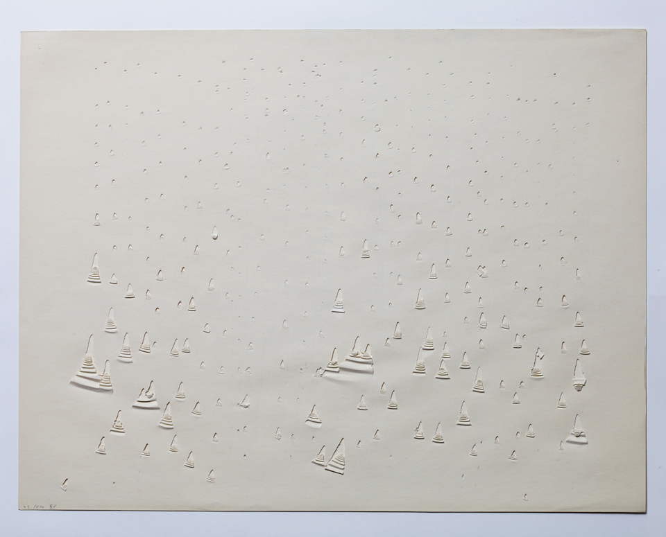 Oskar Holweck, 13. / VIII 58, 1958, Collection ZERO foundation, Düsseldorf