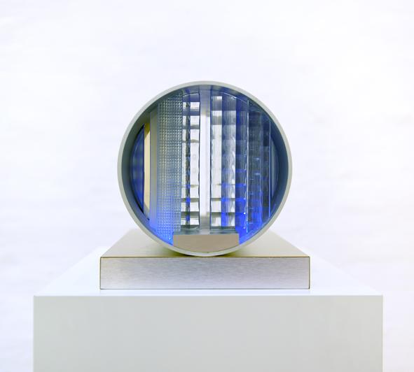 Nanda Vigo, Cronotopic Way Across, 1066/2011, Collection ZERO foundation, Düsseldorf